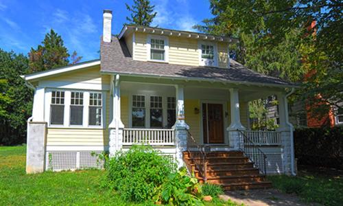 Classic Rock Face Rusticated Concrete Sears Block House Craftsman Bungalow Porch Columns Kit Home