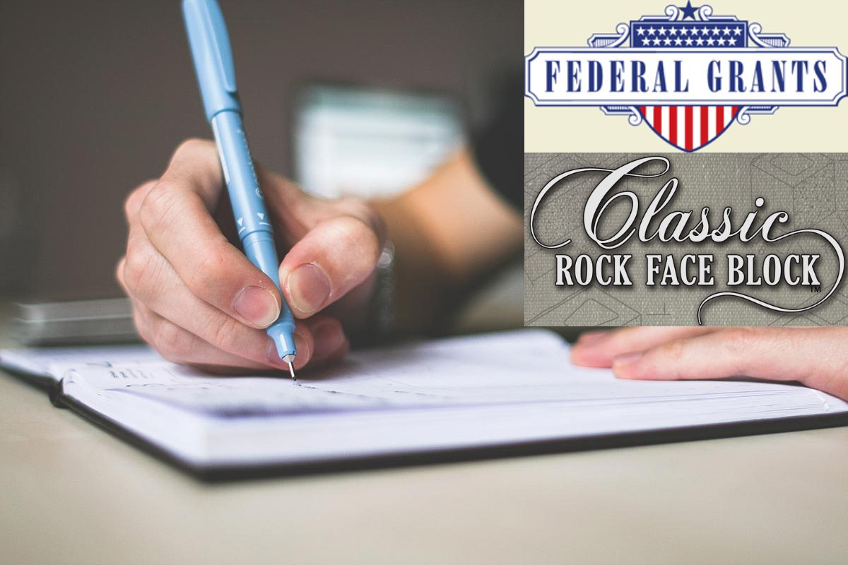 Federal Grants for Classic Rock Face Block