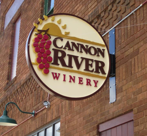 Classic-Rock-Face-Rusticated-Concrete-Sears-Block-Cannon-River-Winery-Entrance