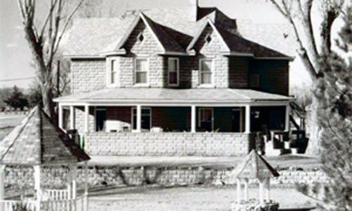 Classic Rock Face Rusticated Concrete Sears Block Victorian Farm House